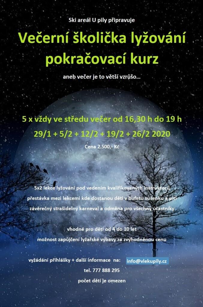 plakát večerní škola